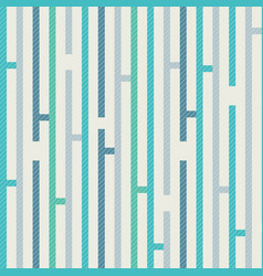 Abstract pattern with vertical stripes on texture vector