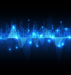 background abstract technology vector image