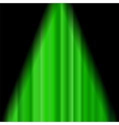 Cinema Closed Green Curtain vector