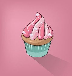 Cupcake Clipart Background vector