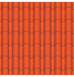 Roof tile seamless vector