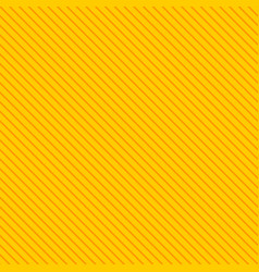 Tile yellow and orange stripes summer pattern vector