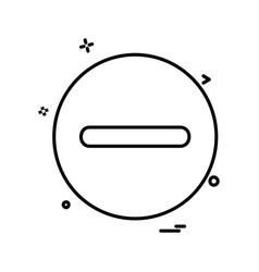 user interface icon design vector image