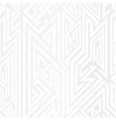 White geometric seamless pattern vector