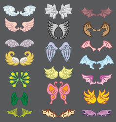 Wings Cute Collection Part III vector