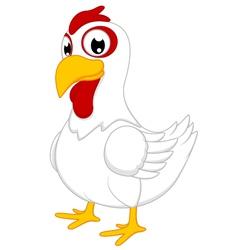 Cute Chicken vector image vector image