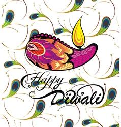 Diwali festival vector image