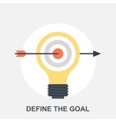Define the goal vector