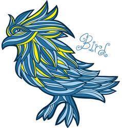Graphic bird vector