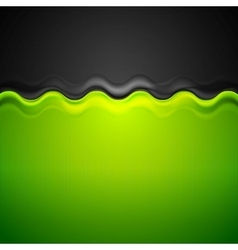 Abstract corporate bright background with wave vector