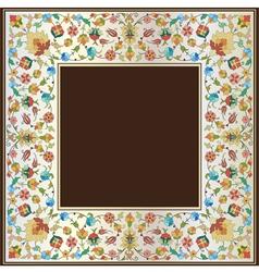 Artistic ottoman pattern series twenty seven vector