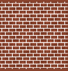 bricks wall background vector image