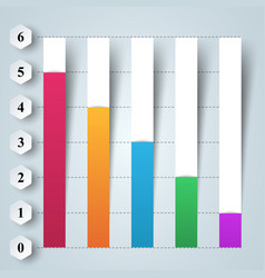 Business infographics 3d charts and graphs vector