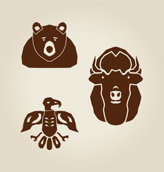 indian animals vector image
