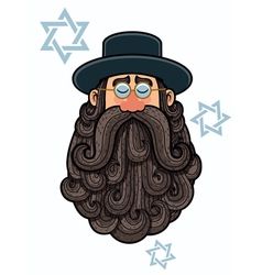 Rabbi Portrait vector image