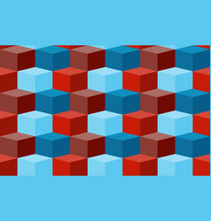 seamless texture with cubes background for your vector image