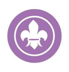Scout sign vector image