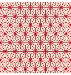 Seamless pattern background retro vector image vector image