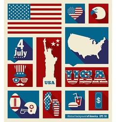 American design elements vector image