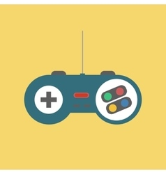 Gamepad Joystick Icon vector image