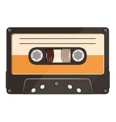 cassette icon cartoon style vector image