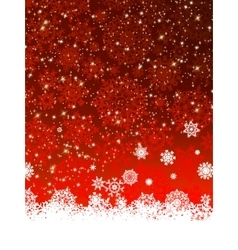 Christmas decoration background EPS 8 vector image