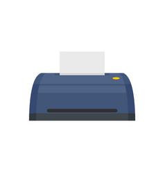 Digital printer icon flat style vector