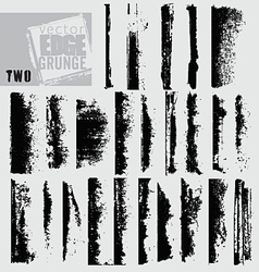 Edge grunge two vector