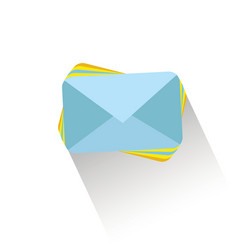 email send concept a lot of vector image