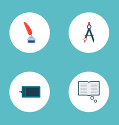 set of constructive icons flat style symbols with vector image