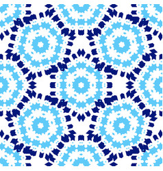 Zellige tile seamless moorish patern vector