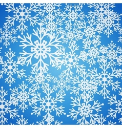 Christmas seamless blue pattern background with vector image vector image