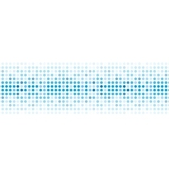 Abstract blue shiny lights background vector
