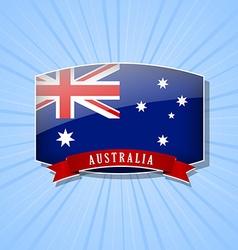 Australian icon vector