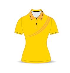 Black polo shirt outline vector