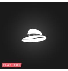 cowboy traditional hat icon vector image