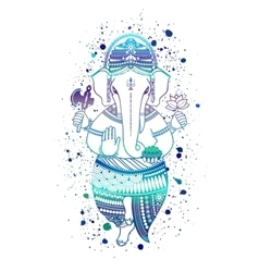Ganesha god vector