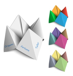 Origami Fortune Tellers vector
