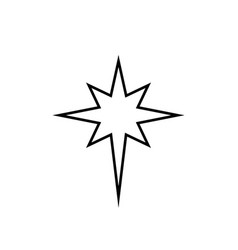 tattoo star stencyl design - ready for print vector image