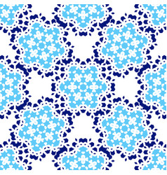 Zellige tile seamless moorish patern vector