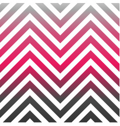 zig zag pattern in hot pink vector image