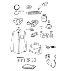 male membership vector image