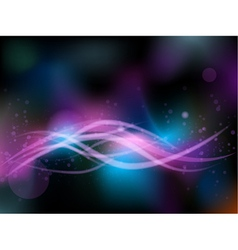 Abstract bright background blur vector image