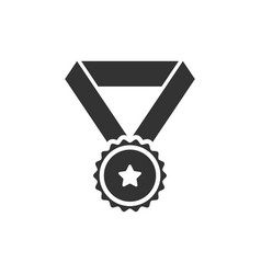 award medal icon graphic design template vector image