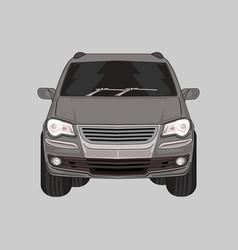 Car suv volkswagen modern car vector