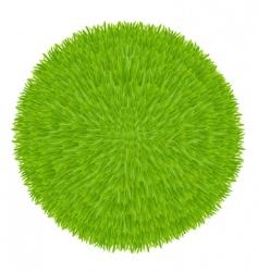 Grass ball vector