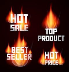 Hot Sale - Price - Top Product - Best Seller vector image
