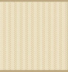 Knit beige pattern vector