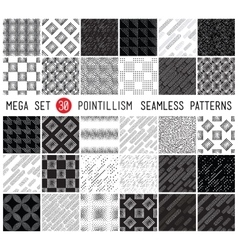 Universal set seamless patterns vector