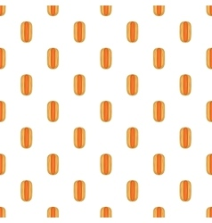 Hot dog pattern cartoon style vector image vector image
